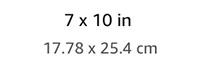 7x10in